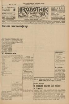 Robotnik : centralny organ P.P.S. R.41 [i.e.42], nr 113 (3 kwietnia 1936) = nr 6597 (po konfiskacie nakład drugi)