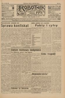 Robotnik : centralny organ P.P.S. R.41 [i.e.42], nr 114 (4 kwietnia 1936) = nr 6598