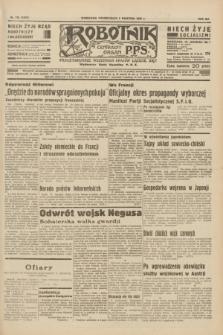 Robotnik : centralny organ P.P.S. R.41 [i.e.42], nr 116 (6 kwietnia 1936) = nr 6600