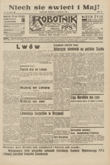 Robotnik : centralny organ P.P.S. R.41 [i.e.42], nr 129 (19 kwietnia 1936) = nr 6614