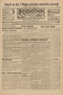 Robotnik : centralny organ P.P.S. R.41 [i.e.42], nr 137 (24 kwietnia 1936) = nr 6622