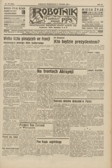 Robotnik : centralny organ P.P.S. R.41 [i.e.42], nr 140 (27 kwietnia 1936) = nr 6625