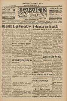 Robotnik : centralny organ P.P.S. R.41 [i.e.42], nr 143 (29 kwietnia 1936) = nr 6628 (po konfiskacie nakład drugi)
