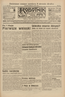 Robotnik : centralny organ P.P.S. R.41 [i.e.42], nr 147 (3 maja 1936) = nr 6630