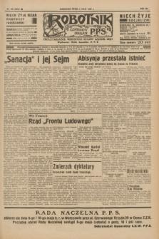 Robotnik : centralny organ P.P.S. R.41 [i.e.42], nr 150 (6 maja 1936) = nr 6633