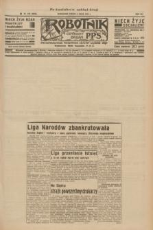 Robotnik : centralny organ P.P.S. R.41 [i.e.42], nr 153 (8 maja 1936) = nr 6636