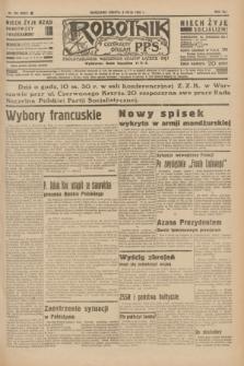 Robotnik : centralny organ P.P.S. R.41 [i.e.42], nr 154 (9 maja 1936) = nr 6637