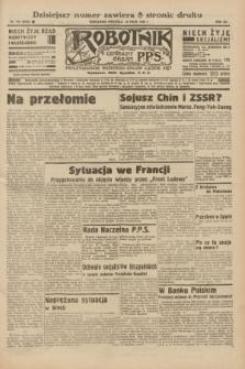 Robotnik : centralny organ P.P.S. R.41 [i.e.42], nr 155 (10 maja 1936) = nr 6638