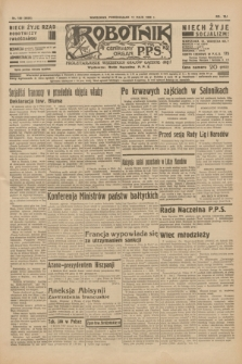 Robotnik : centralny organ P.P.S. R.41 [i.e.42], nr 156 (11 maja 1936) = nr 6639