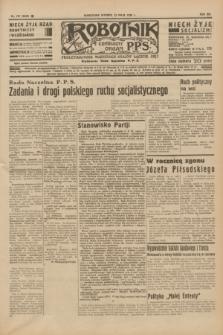 Robotnik : centralny organ P.P.S. R.41 [i.e.42], nr 157 (12 maja 1936) = nr 6640