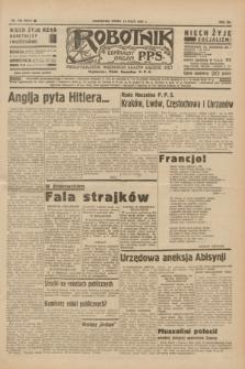 Robotnik : centralny organ P.P.S. R.41 [i.e.42], nr 158 (13 maja 1936) = nr 6641