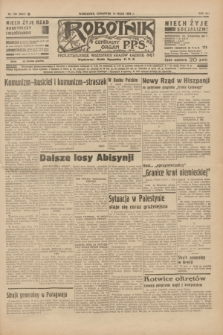 Robotnik : centralny organ P.P.S. R.41 [i.e.42], nr 159 (14 maja 1936) = nr 6642