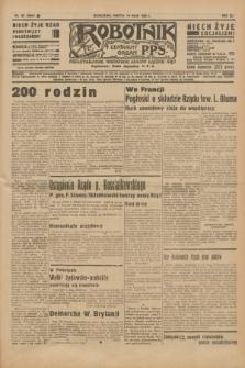 Robotnik : centralny organ P.P.S. R.41 [i.e.42], nr 161 (16 maja 1936) = nr 6644