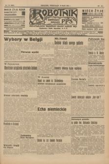 Robotnik : centralny organ P.P.S. R.41 [i.e.42], nr 172 (25 maja 1936) = nr 6655