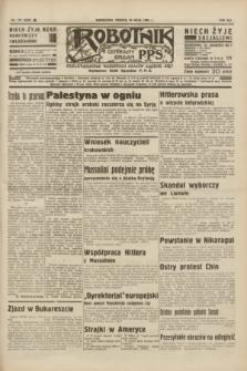 Robotnik : centralny organ P.P.S. R.41 [i.e.42], nr 177 (30 maja 1936) = nr 6660