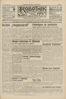 Robotnik : centralny organ P.P.S. R.41 [i.e.42], nr 181 (4 czerwca 1936) = nr 6664