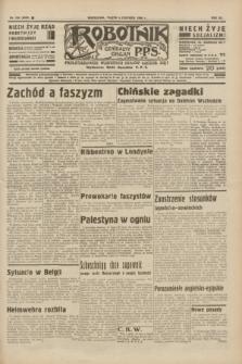 Robotnik : centralny organ P.P.S. R.41 [i.e.42], nr 182 (5 czerwca 1936) = nr 6665