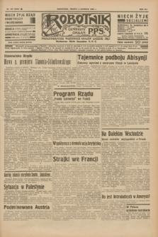 Robotnik : centralny organ P.P.S. R.41 [i.e.42], nr 183 (6 czerwca 1936) = nr 6666