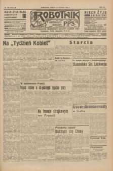 Robotnik : centralny organ P.P.S. R.41 [i.e.42], nr 190 (13 czerwca 1936) = nr 6673