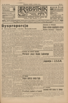 Robotnik : centralny organ P.P.S. R.41 [i.e.42], nr 193 (16 czerwca 1936) = nr 6676