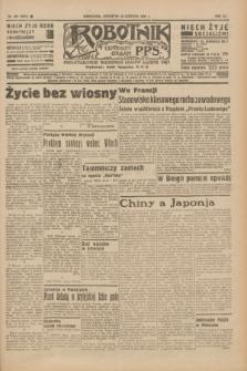 Robotnik : centralny organ P.P.S. R.41 [i.e.42], nr 195 (18 czerwca 1936) = nr 6678