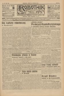 Robotnik : centralny organ P.P.S. R.41 [i.e.42], nr 197 (20 czerwca 1936) = nr 6680