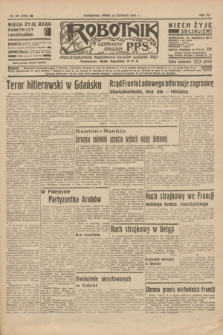 Robotnik : centralny organ P.P.S. R.41 [i.e.42], nr 201 (24 czerwca 1936) = nr 6684