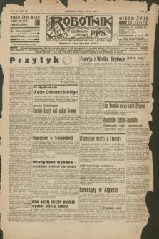 Robotnik : centralny organ P.P.S. R.41 [i.e.42], nr 207 (1 lipca 1936) = nr 6690