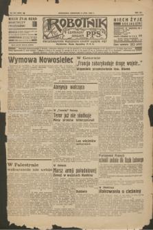 Robotnik : centralny organ P.P.S. R.41 [i.e.42], nr 208 (2 lipca 1936) = nr 6691