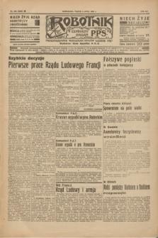 Robotnik : centralny organ P.P.S. R.41 [i.e.42], nr 209 (3 lipca 1936) = nr 6692