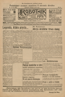 Robotnik : centralny organ P.P.S. R.41 [i.e.42], nr 212 (5 lipca 1936) = nr 6695 (po konfiskacie nakład drugi)