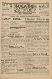 Robotnik : centralny organ P.P.S. R.41 [i.e.42], nr 216 (8 lipca 1936) = nr 6699