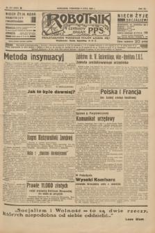 Robotnik : centralny organ P.P.S. R.41 [i.e.42], nr 217 (9 lipca 1936) = nr 6701