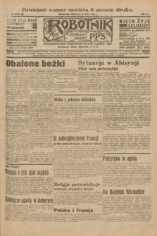 Robotnik : centralny organ P.P.S. R.41 [i.e.42], nr 220 (12 lipca 1936) = nr 6704