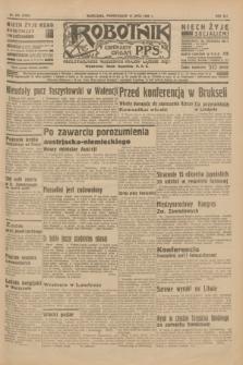 Robotnik : centralny organ P.P.S. R.41 [i.e.42], nr 221 (13 lipca 1936) = nr 6705