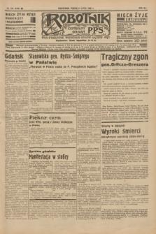 Robotnik : centralny organ P.P.S. R.41 [i.e.42], nr 225 (17 lipca 1936) = nr 6709