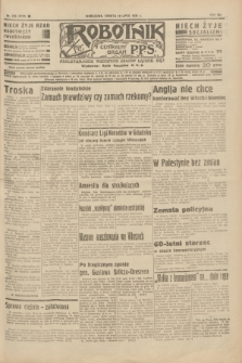Robotnik : centralny organ P.P.S. R.41 [i.e.42], nr 226 (18 lipca 1936) = nr 6710
