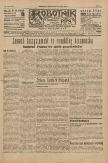 Robotnik : centralny organ P.P.S. R.41 [i.e.42], nr 229 (20 lipca 1936) = nr 6713