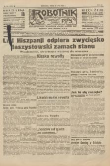 Robotnik : centralny organ P.P.S. R.41 [i.e.42], nr 231 (22 lipca 1936) = nr 6715