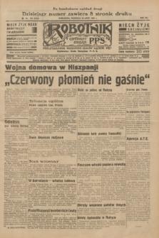 Robotnik : centralny organ P.P.S. R.41 [i.e.42], nr 236 (26 lipca 1936) = nr 6720 (po konfiskacie nakład drugi)