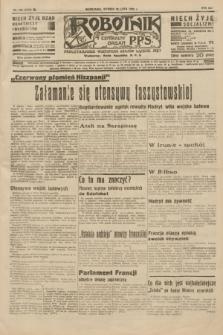 Robotnik : centralny organ P.P.S. R.41 [i.e.42], nr 238 (28 lipca 1936) = nr 6722