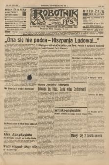 Robotnik : centralny organ P.P.S. R.41 [i.e.42], nr 240 (30 lipca 1936) = nr 6724