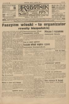 Robotnik : centralny organ P.P.S. R.41 [i.e.42], nr 242 (1 sierpnia 1936) = nr 6726