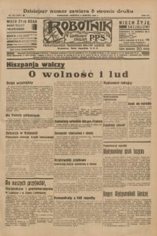 Robotnik : centralny organ P.P.S. R.41 [i.e.42], nr 243 (2 sierpnia 1936) = nr 6727