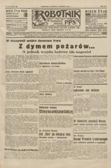 Robotnik : centralny organ P.P.S. R.41 [i.e.42], nr 247 (6 sierpnia 1936) = nr 6731