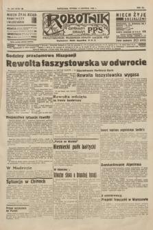 Robotnik : centralny organ P.P.S. R.41 [i.e.42], nr 252 (11 sierpnia 1936) = nr 6736