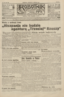 Robotnik : centralny organ P.P.S. R.41 [i.e.42], nr 254 (13 sierpnia 1936) = nr 6738