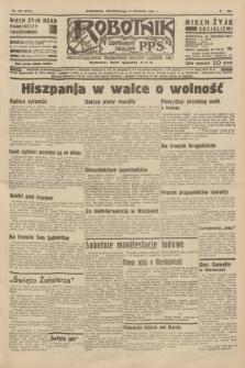 Robotnik : centralny organ P.P.S. R.41 [i.e.42], nr 257 (17 sierpnia 1936) = nr 6741