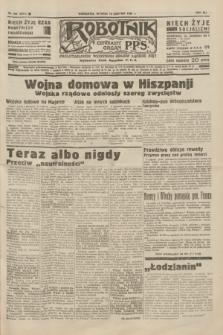 Robotnik : centralny organ P.P.S. R.41 [i.e.42], nr 258 (18 sierpnia 1936) = nr 6742