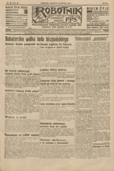 Robotnik : centralny organ P.P.S. R.41 [i.e.42], nr 260 (20 sierpnia 1936) = nr 6744